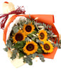 5 Sunflower Bouquet