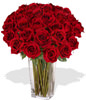 36 Red Roses With a Vase