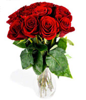 Bouquet Of 12 Roses In Red