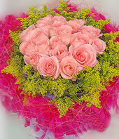 21 Pink roses