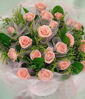 22 Pink roses