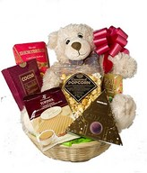 Gourmet hampers with bear