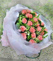 20 Diana Red roses