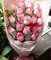 20 Pink roses
