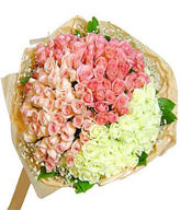 Mixed 99 Roses To China,RM13022801