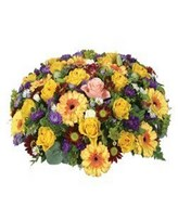 Flower Garden: sympathy arrangement