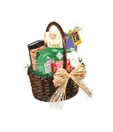 Hamper Delight consist of Assorted biscuits and Cookies presented in a Basket