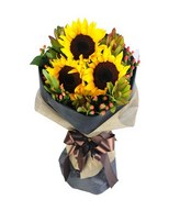 3 Sunflower in a bouquet
