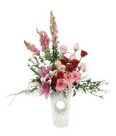 Arrangement of Mixed flower in vase
