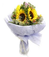 5 Sunflowers Handbouquet