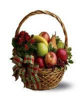 Gift basket of fruits